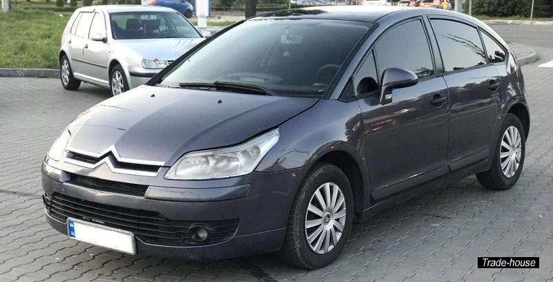Аренда авто без залога Ситроен С 4 под выкуп Киев